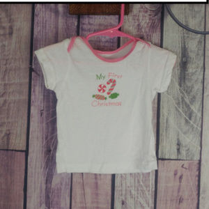 Other - girls size 12 month my first christmas tee R33